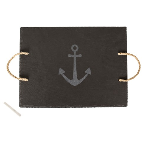 """Cathy's Concepts Rectangle Slate Serving Board 12x15.7"""" - Anchor - image 1 of 4"""