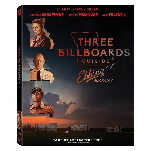 Three Billboards Outside Ebbing, Missouri (Blu-ray + DVD + Digital) - image 1 of 1