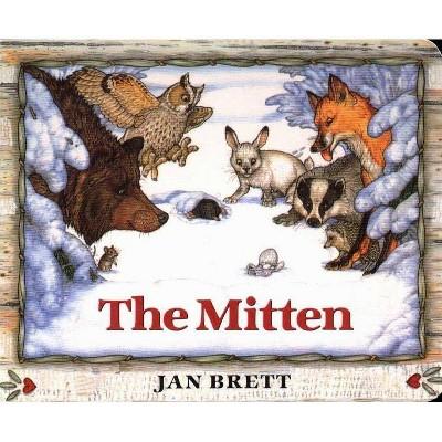 The Mitten by Jan Brett (Board Book)