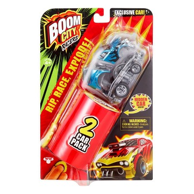 Boom City Racers-  2 Car Pack Launcher - Fire It Up