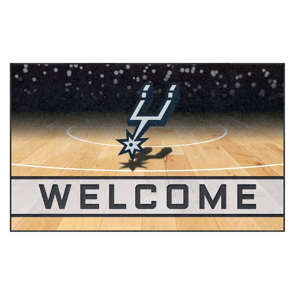 NBA San Antonio Spurs Crumb Rubber Door Mat 18