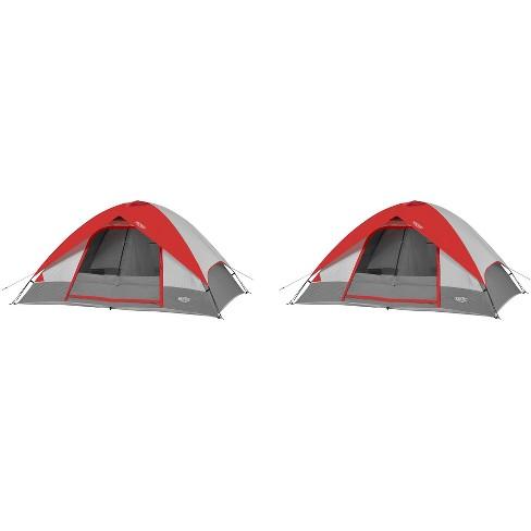 cc2fd0ff70b Wenzel 10  X 8  Pine Ridge 5 Person Lite Reflect Dome Camping Tent ...