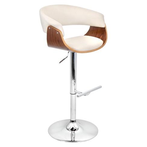 Mod Mid - Century Modern Adjustable Barstool - Lumisource - image 1 of 4