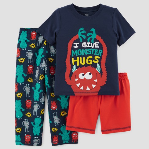 449c5cea4e08 Baby Boys  3pc Monster Hugs Pajama Set - Just One You™ Made By ...