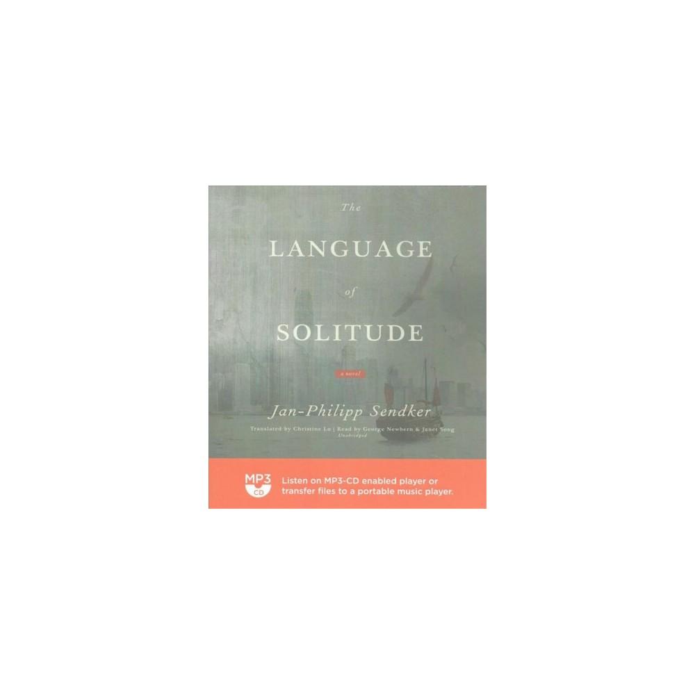 Language of Solitude (MP3-CD) (Jan-Philipp Sendker)