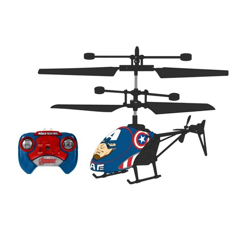 World Tech Toys Marvel Captain America 2CH IR Helicopter - image 1 of 1