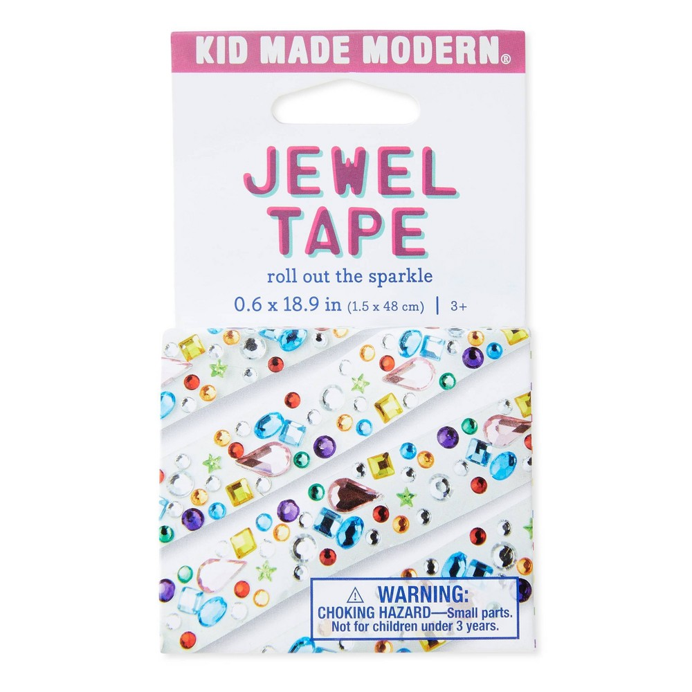 Hand Made Modern Jewel Tape, Multi-Colored