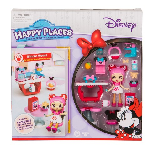 Happy Places™ Disney Minnie Breakfast Nook Theme Pack - image 1 of 5