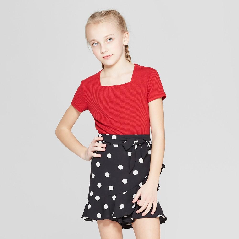 Girls' Bodysuit - art class Red L