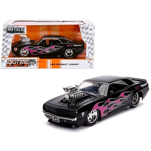 1969 Chevrolet Camaro With Blower Black And Pink Target