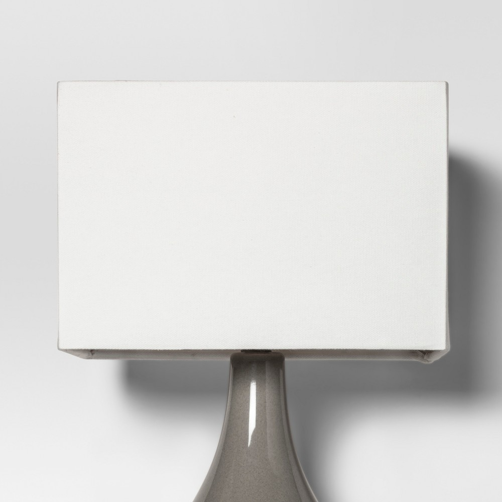 Image of Rectangle Large Lamp Shade White - Project 62