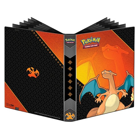 Ultra Pro 9-Pocket Pokémon Full-View Pro Binder: Charizard Card Game - image 1 of 2