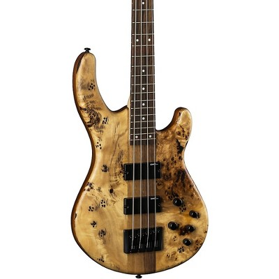 Dean Edge Select Burled Poplar Bass Natural