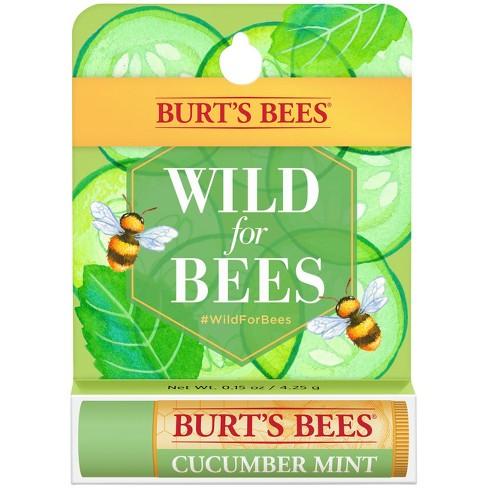 b45a0d5a77de Burt s Bees Lip Balm Cucumber Mint Spring Cause - .15oz   Target