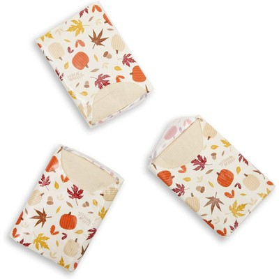 Sparkle and Bash  72 Pack Give Thanks 3 Ply Pocket Tissues, Thanksgiving Travel Size Tissue Packs