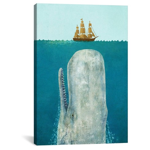 The Whale by Terry Fan Canvas Print - image 1 of 2