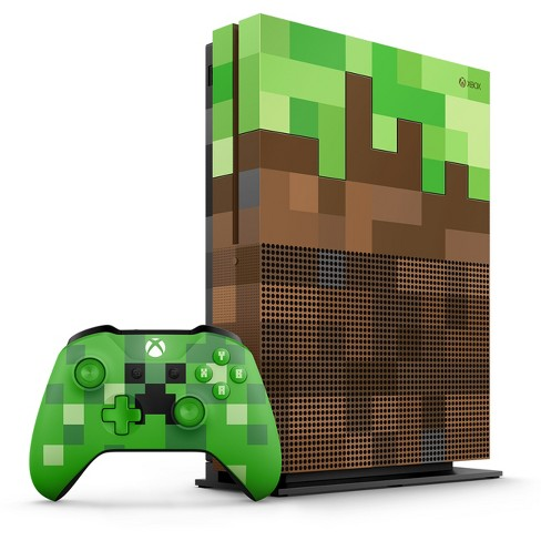 Xbox One S 1tb Minecraft Limited Edition Bundle Target