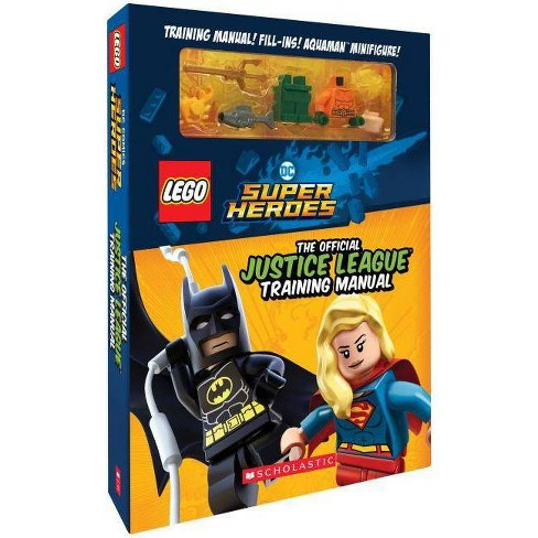 The Official Justice League Training Manual - (Lego DC Super Heroes) by  Liz Marsham (Paperback) - image 1 of 1
