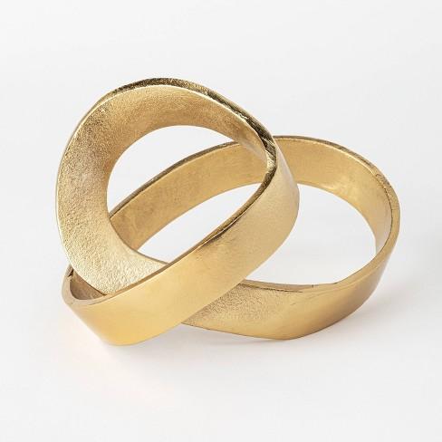 Decorative Brass Figurine Gold - Threshold™ designed with Studio McGee - image 1 of 4