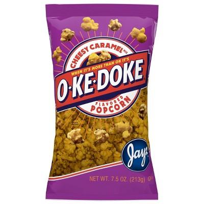 O-Ke-Doke Cheesy Caramel Popcorn - 8oz