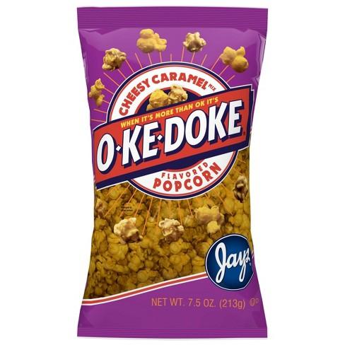 O-Ke-Doke Cheesy Caramel Popcorn - 8oz - image 1 of 3