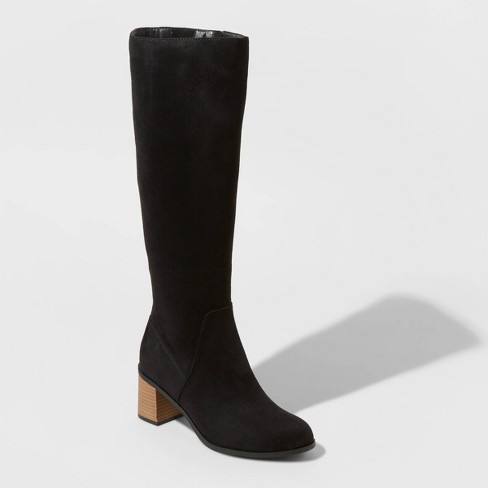 Women's Marlee Knee High Heeled Fashion Boots - Universal Thread™ - image 1 of 3