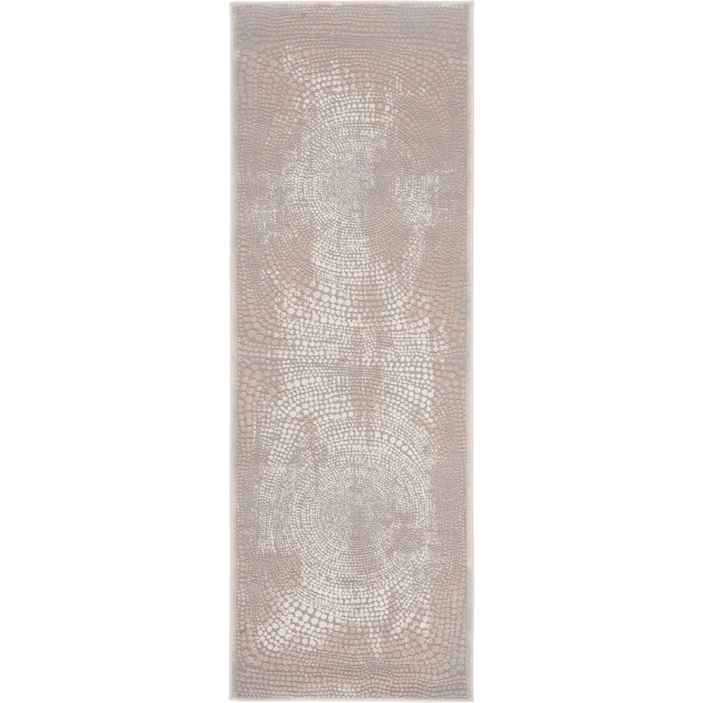27X8 Pebble Loomed Accent Rug Ivory/Gray - Safavieh Cheap