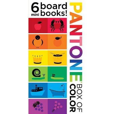 Pantone: Box of Color: 6 Mini Board Books! - (Hardcover)