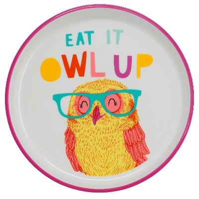 Small Owl Plate 7.3 x7.3  - Circo™