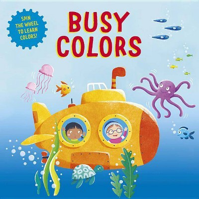 Busy Colors - (Clever Wheels)(Board_book)