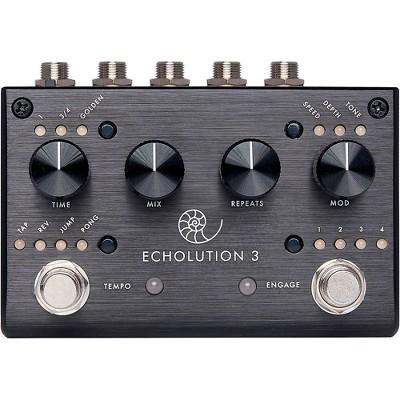 Pigtronix Echolution 3 Delay Effects Pedal Black