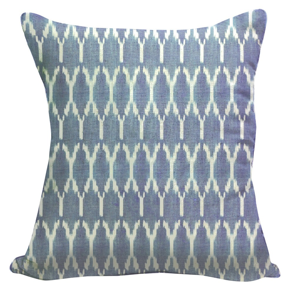 Blue Throw Pillow (20