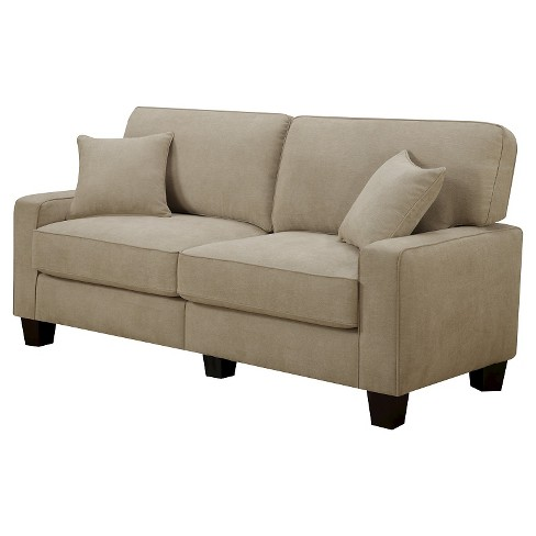 Navarre Collection Sofa Beige - Serta - image 1 of 5