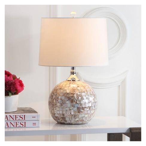 Nikki Shell Table Lamp Set Of 2 Safavieh Target