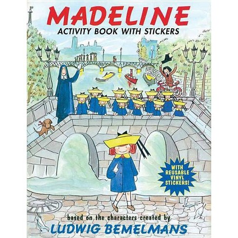 Madeline Activity Book with Stickers - by  Ludwig Bemelmans (Paperback) - image 1 of 1