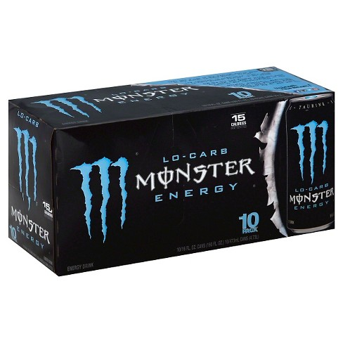 Monster Energy, Lo-Carb - 10pk/16 fl oz Cans - image 1 of 1
