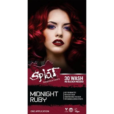 Splat Midnight Hair Color - Ruby - 6.0 fl oz