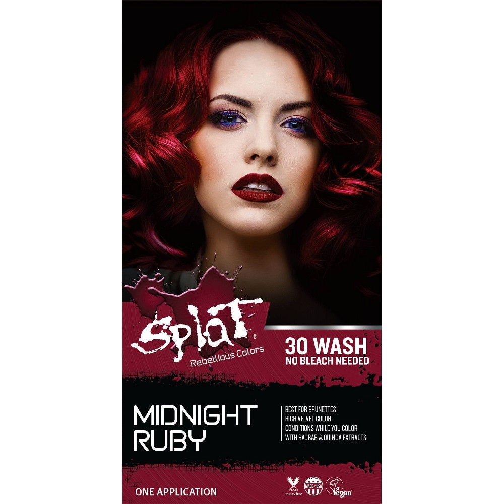 Image of Splat Midnight Hair Color - Ruby - 6.0oz