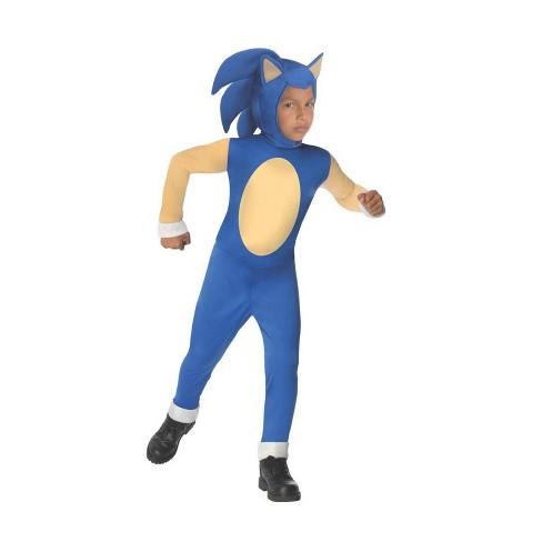 Kids Sonic The Hedgehog Halloween Costume L Target