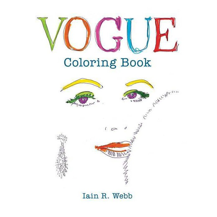 Vogue Adult Coloring Book by Iain R. Webb - image 1 of 1