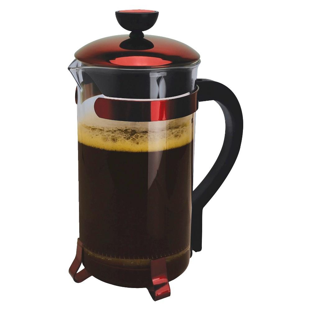 Primula Classic Coffee Press – Red, Glass 15194927