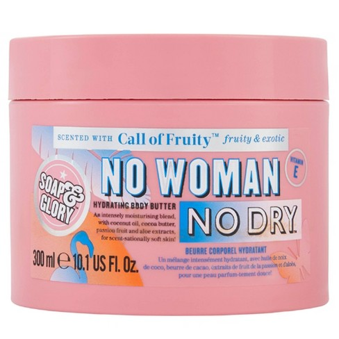 Soap & Glory Call of Fruity No Woman No Dry Body Butter - 10.1oz - image 1 of 4
