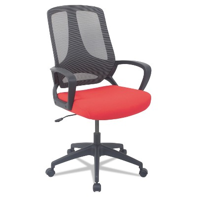 Alera MB Series Mesh Mid-Back Office Chair Red/Black MB4738