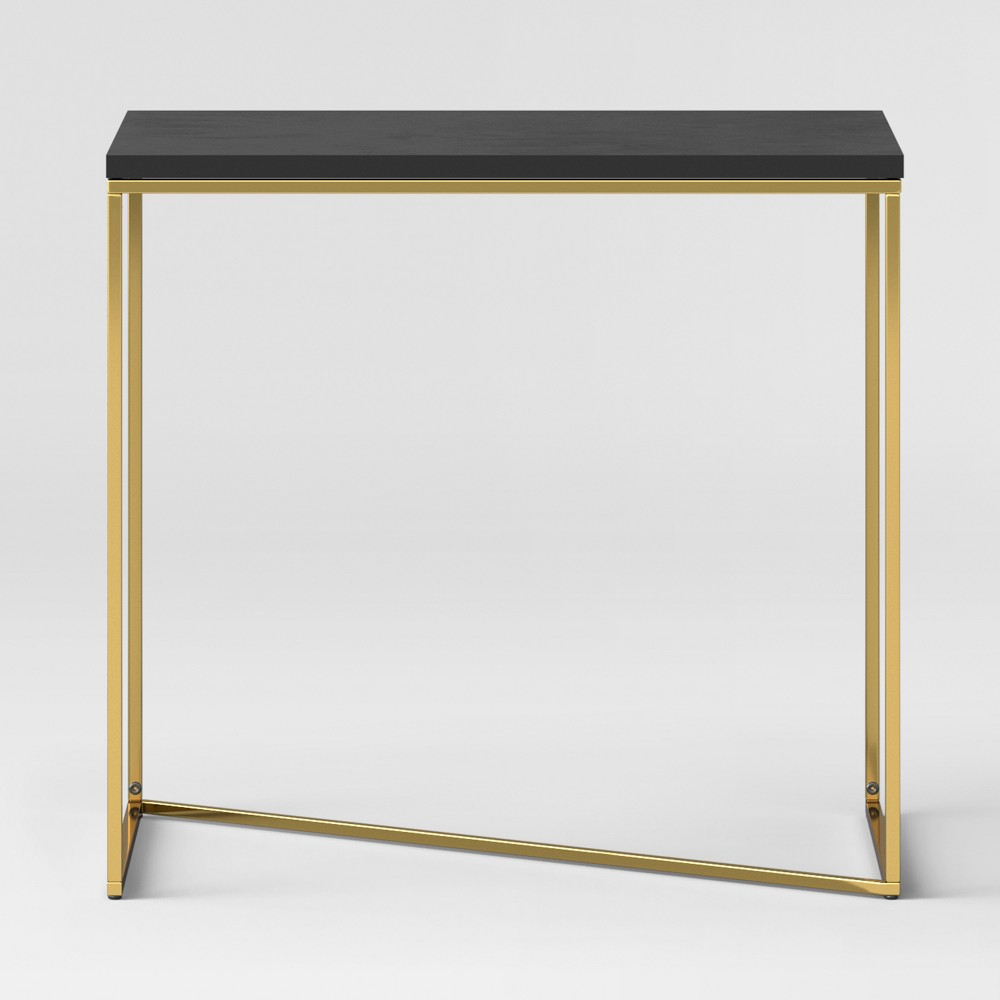 Sollerod End Table - Brass and Black - Project 62