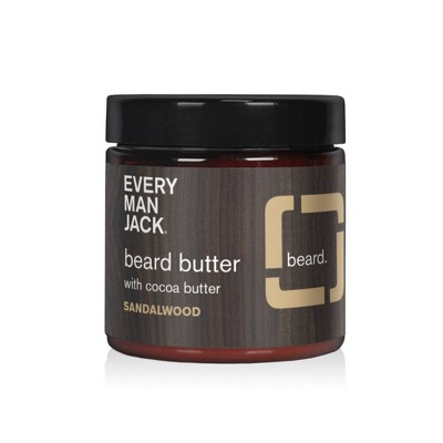 Every Man Jack Sandalwood Beard Butter - 4oz
