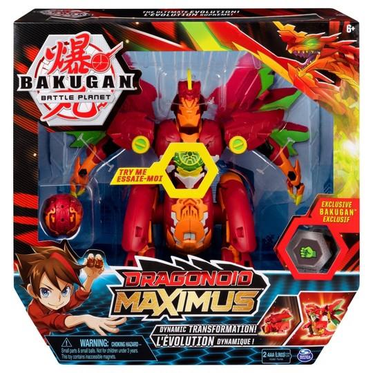 Bakugan Dragonoid Maximus Transforming Action Figure image number null