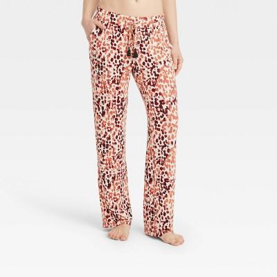 Women's Animal Print Beautifully Soft Pajama Pants - Stars Above™ Beige