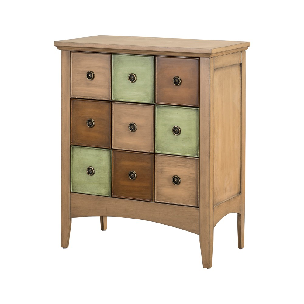 "Image of ""32"""" Durdle Accent Cabinet Coffee - Elegant Home Fashions, Brown"""