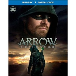 Arrow The Eighth and Final Season (Blu-Ray + Digital)