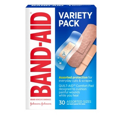 Bandages & Gauze: Band-Aid Variety Pack
